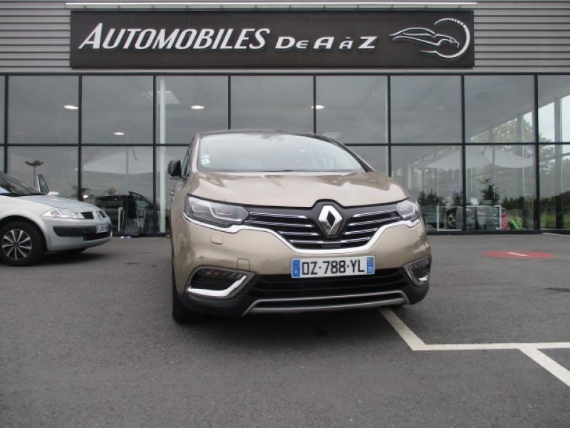 Renault ESPACE V 1.6 TCE 200CH ENERGY INTENS EDC Essence BEIGE  Occasion à vendre