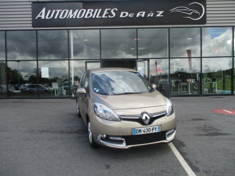 Renault GRAND SCENIC III 1.5 DCI 110CH ENERGY LIFE ECO² 7 PLACES 2015 Diesel BEIGE  Occasion à vendre