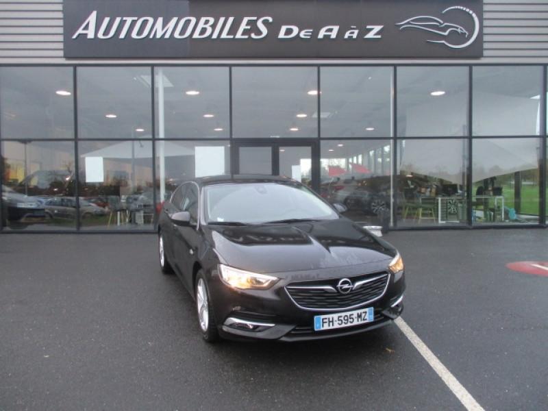 Opel INSIGNIA GRAND SPORT 1.6 D 136CH INNOVATION BUSINESS BVA EURO6DT Diesel NOIR Occasion à vendre