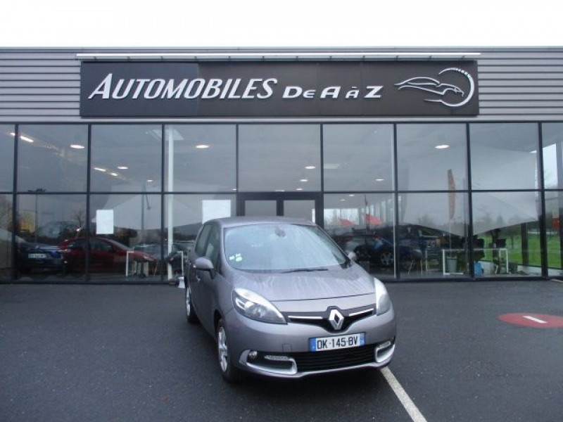 Renault SCENIC 1.5 DCI 110CH ENERGY BUSINESS ECO² Diesel GRIS F Occasion à vendre