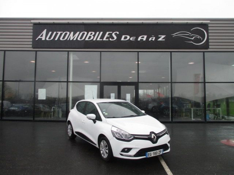 Renault CLIO IV 1.5 DCI 90CH ENERGY AIR MEDIANAV ECO² 82G Diesel BLANC Occasion à vendre