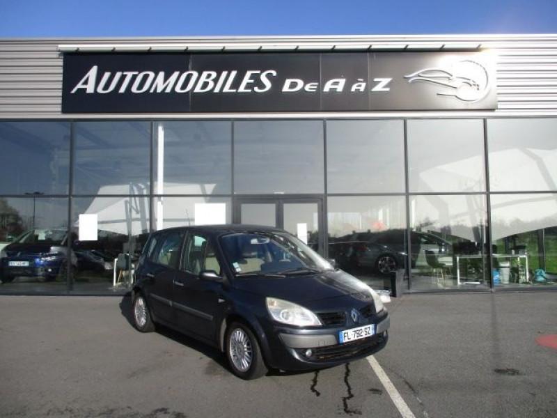 Renault SCENIC II 1.9 DCI 130CH FAP PRIVILEGE Diesel NOIR Occasion à vendre
