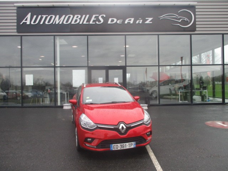 Renault CLIO IV ESTATE 1.5 DCI 90CH ENERGY BUSINESS 82G Diesel ROUGE  Occasion à vendre