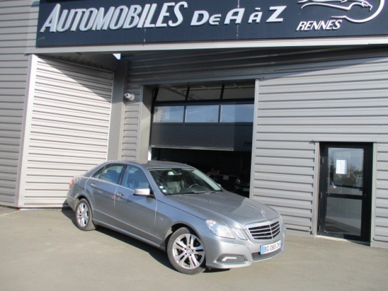 Mercedes-Benz CLASSE E (W212) 220 CDI BE AVANTGARDE EXECUTIVE 7GTRO+ Diesel GRIS Occasion à vendre