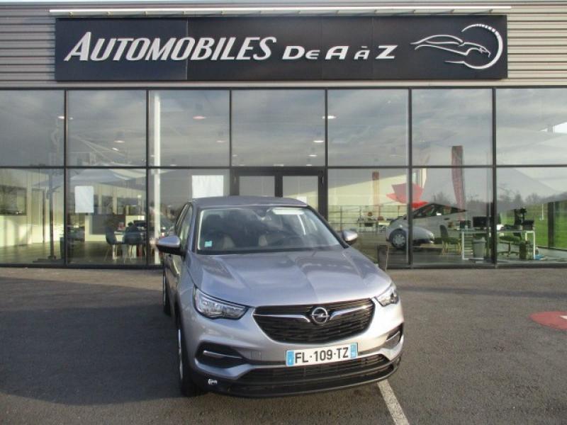 Opel GRANDLAND X 1.2 TURBO 130CH EDITION BUSINESS BVA8 109G Essence GRIS F Occasion à vendre