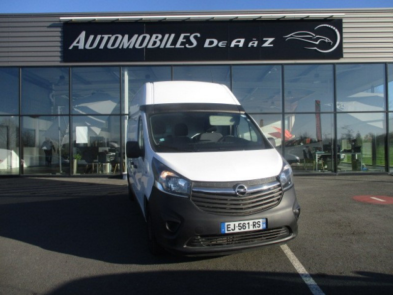 Opel VIVARO FG F2900 L2H2 1.6 CDTI 120 PACK CLIM + Diesel BLANC Occasion à vendre