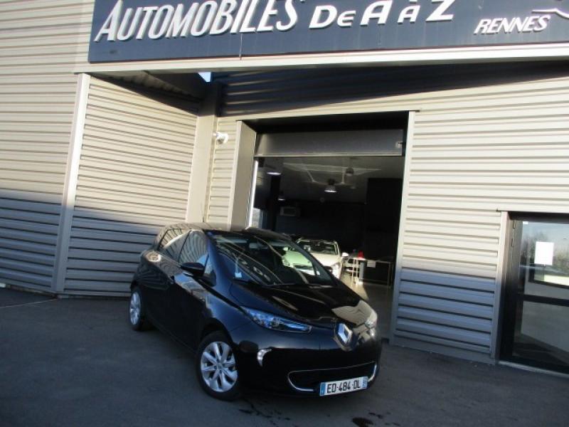 Renault ZOE INTENS CHARGE RAPIDE TYPE 2 Electrique NOIR Occasion à vendre