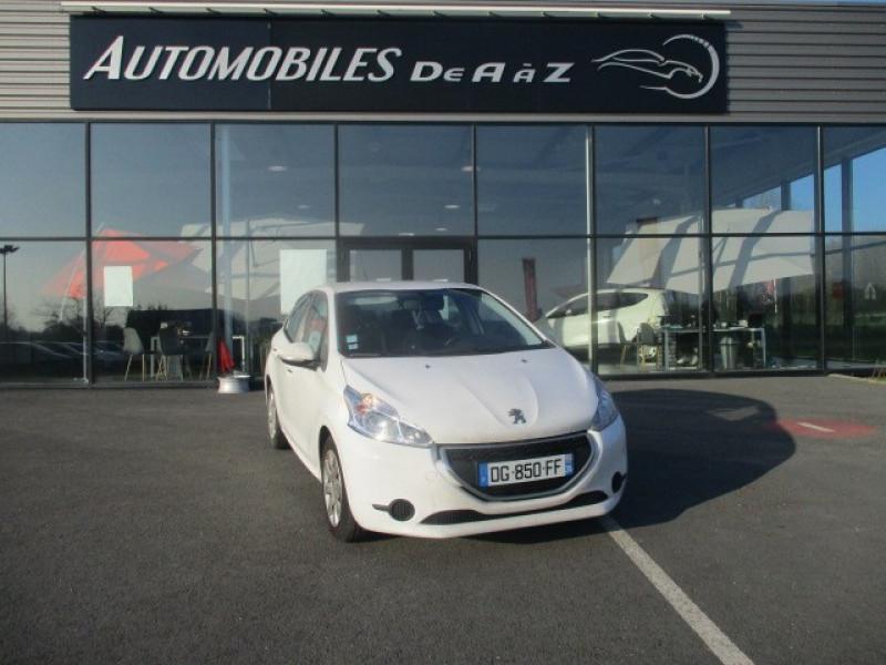 Peugeot 208 1.6 E-HDI FAP ACTIVE 4CV 5P Diesel BLANC Occasion à vendre