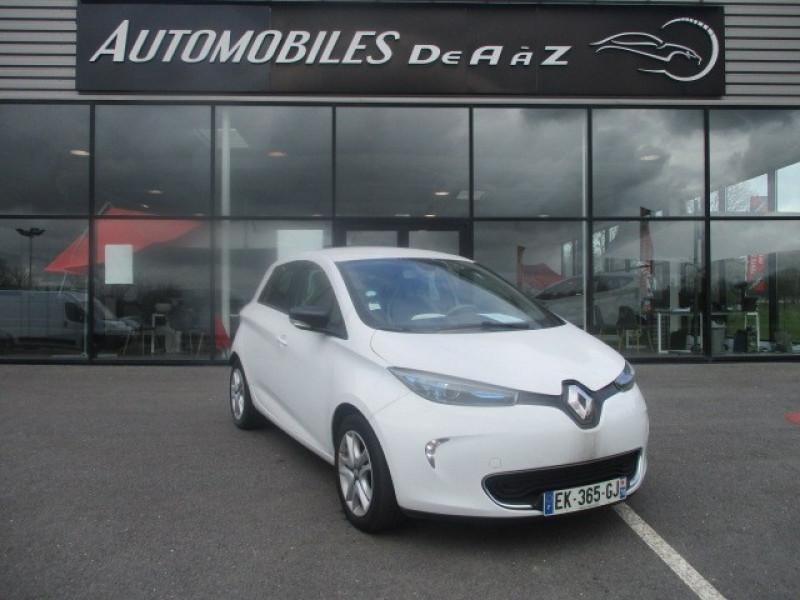 Renault ZOE ZEN CHARGE NORMALE R90 Electrique BLANC Occasion à vendre