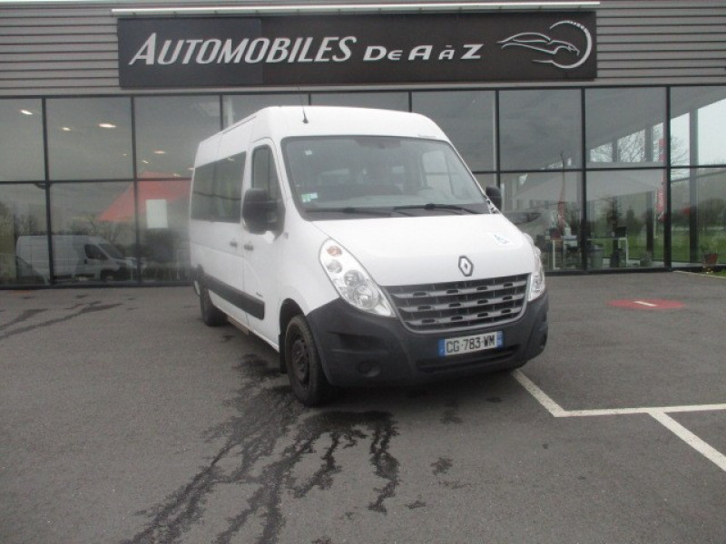 Renault MASTER III FG f3300 L2H2 2.3 DCI 100 CH STOP AND START TPMR Diesel BLANC Occasion à vendre