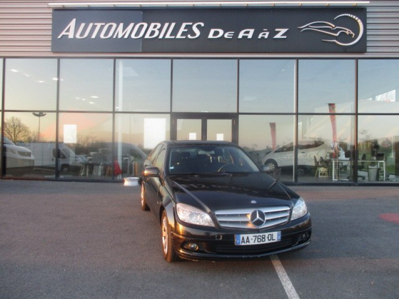 Mercedes-Benz CLASSE C (W204) 200 CDI BE CLASSIC Diesel NOIR Occasion à vendre