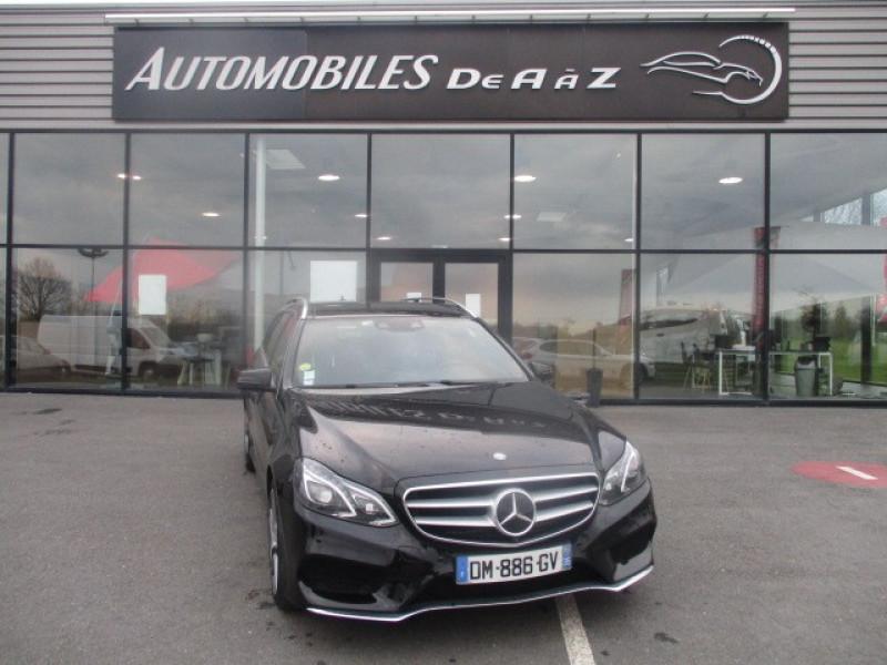 Mercedes-Benz CLASSE E BREAK (S212) 300 BLUETEC HYBRID SPORTLINE 7G-TRONIC PLUS Hybride NOIR Occasion à vendre
