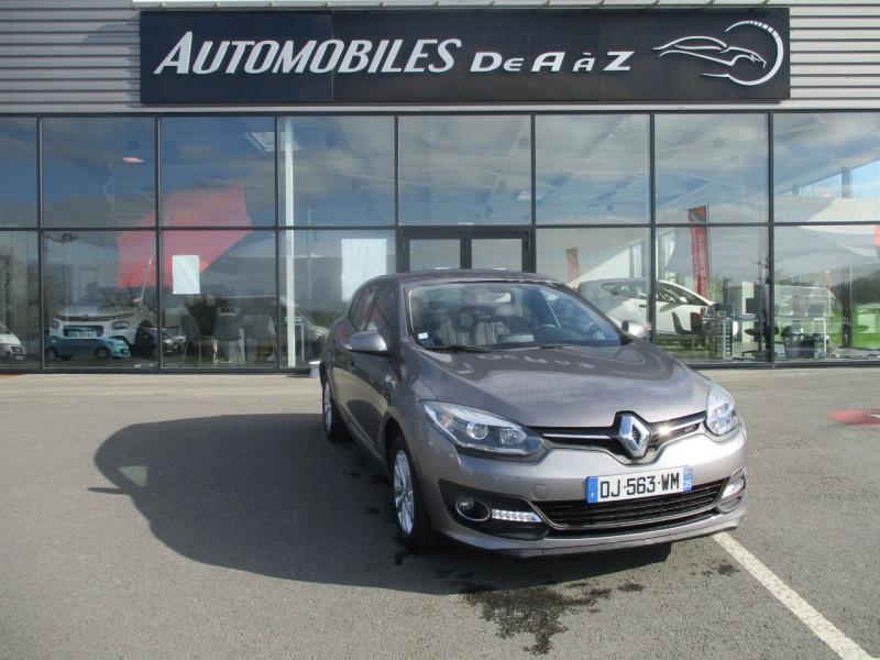 Renault MEGANE III 1.2 TCE 115CH ENERGY INTENS ECO² Essence GRIS Occasion à vendre