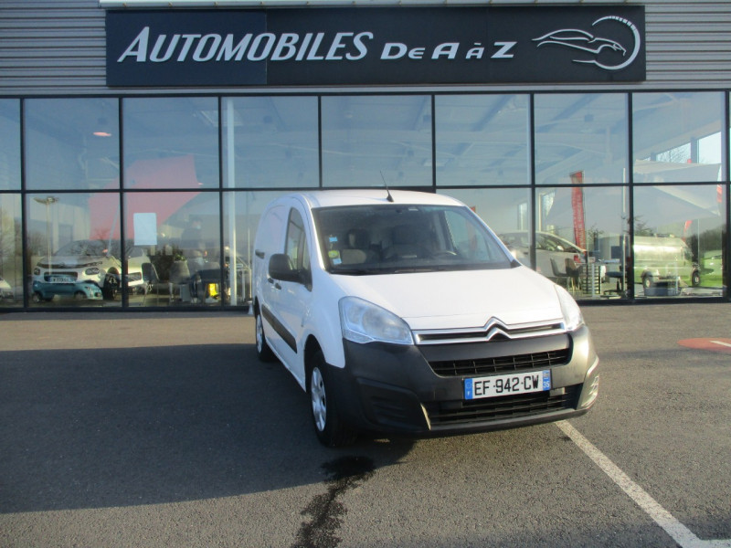 Citroen BERLINGO XL 1.6 BLUEHDI 100 S&S BUSINESS Diesel BLANC Occasion à vendre