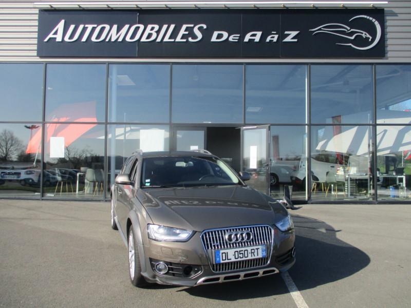 Audi A4 ALLROAD 3.0 V6 TDI 245CH AMBIENTE QUATTRO S TRONIC 7 Diesel MARRON Occasion à vendre