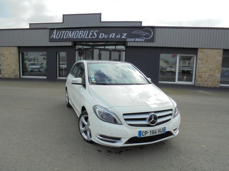 Mercedes-Benz CLASSE B (W246) 180 CDI 1.8 SPORT 7G-DCT Diesel BLANC Occasion à vendre