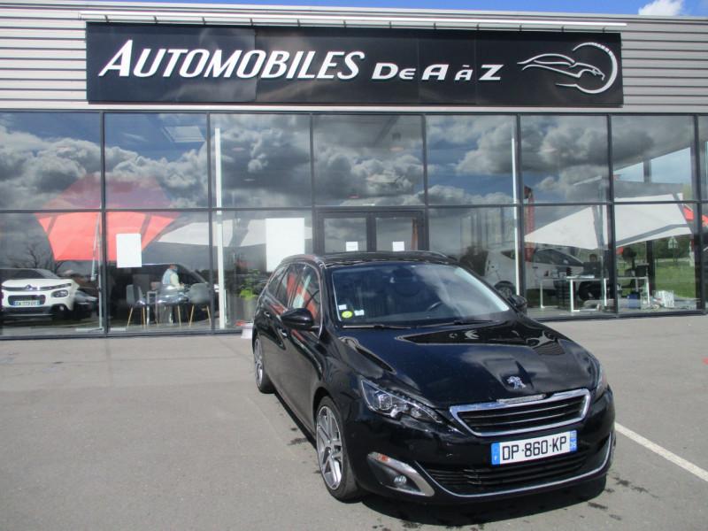 Peugeot 308 SW 1.6 E-HDI FAP 115CH FELINE Diesel NOIR Occasion à vendre