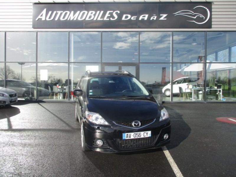 Mazda MAZDA 5 2.0 MZR-CD143 PERFORMANCE GPS PHARES XENON 7PLEL Diesel NOIR Occasion à vendre
