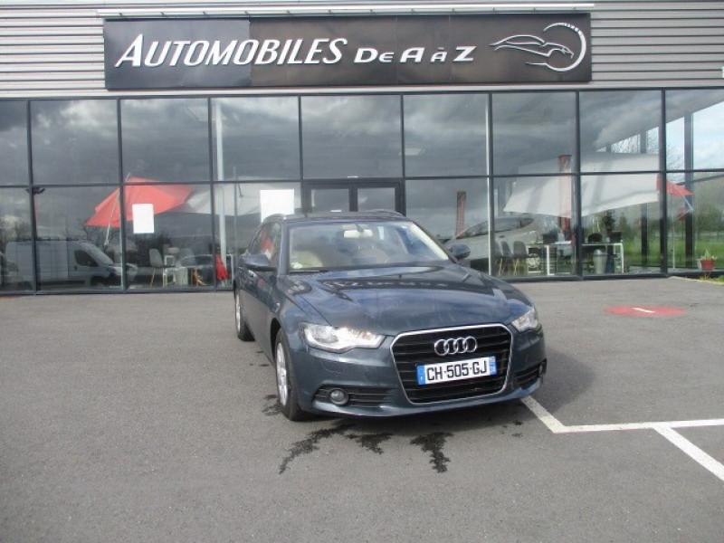 Audi A6 AVANT 2.0 TDI 177CH BUSINESS LINE MULTITRONIC Diesel BLEU F Occasion à vendre