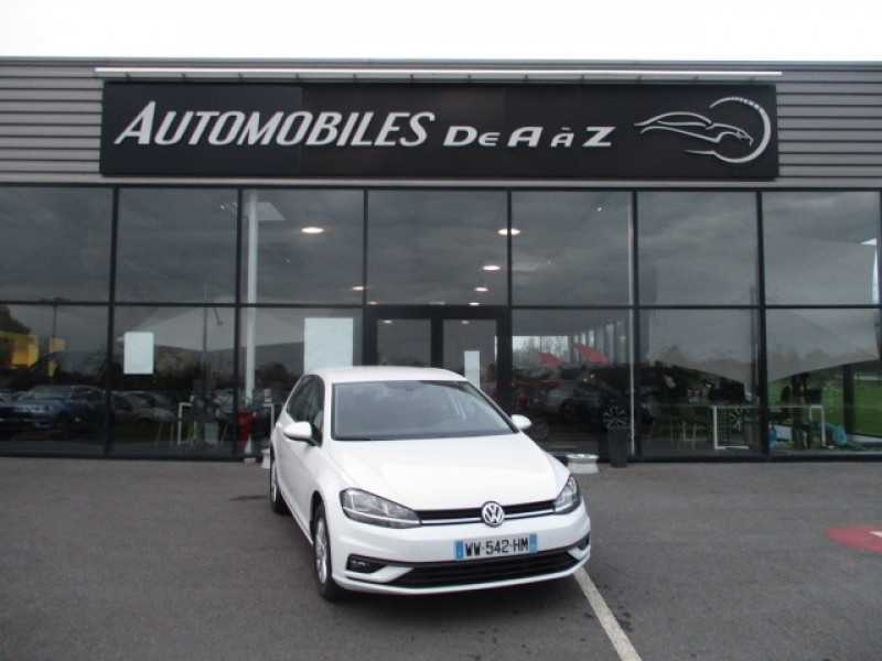 Volkswagen GOLF VII 1.0 TSI 110CH BLUEMOTION TECHNOLOGY TRENDLINE 5P Essence BLANC Occasion à vendre