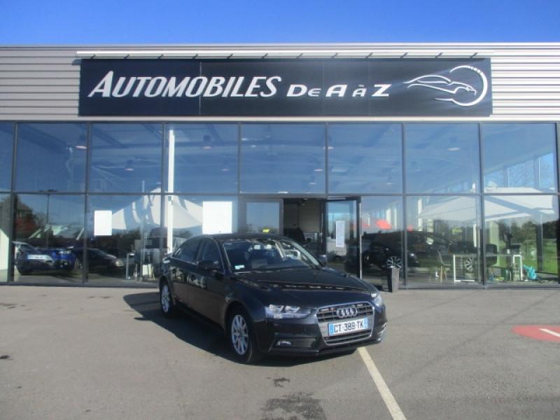 Audi A4 2.0 TDI 143CH DPF BUSINESS LINE MULTITRONIC Diesel NOIR Occasion à vendre