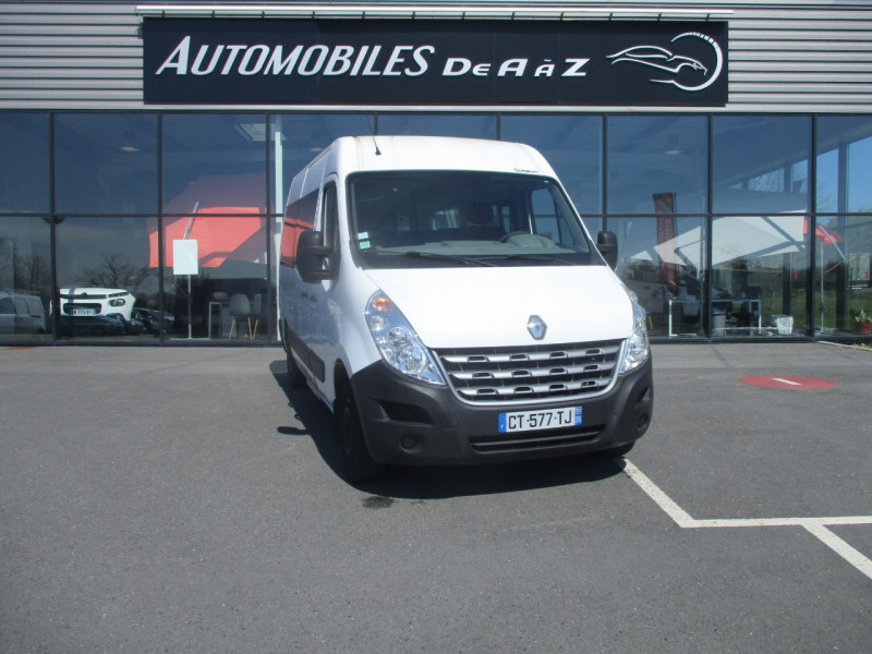 Renault MASTER III FG F3300 L2H2 2.3 DCI 100CH ENERGY GRAND CONFORT TPMR Diesel BLANC Occasion à vendre