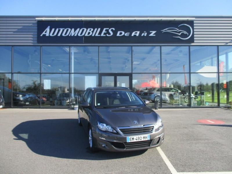 Peugeot 308 SW 1.6 BLUEHDI 120CH STYLE S&S EAT6 Diesel GRIS F Occasion à vendre