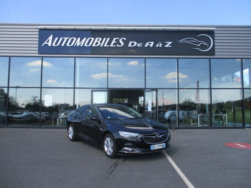 Opel INSIGNIA GRAND SPORT 1.6 D 136CH BUSINESS EDITION PACK BVA EURO6DT Diesel NOIR Occasion à vendre