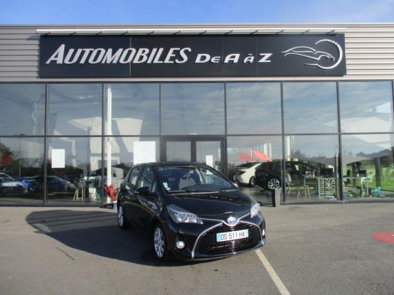 Toyota YARIS HSD 100H DESIGN 5P Hybride NOIR Occasion à vendre