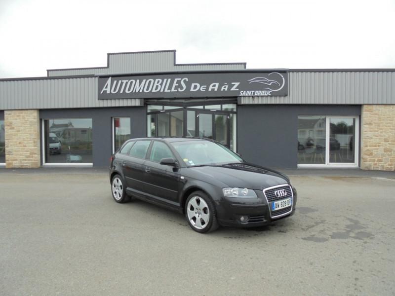 Audi A3 SPORTBACK 2.0 TDI 140CH AMBIENTE S TRONIC 6 Diesel NOIR Occasion à vendre