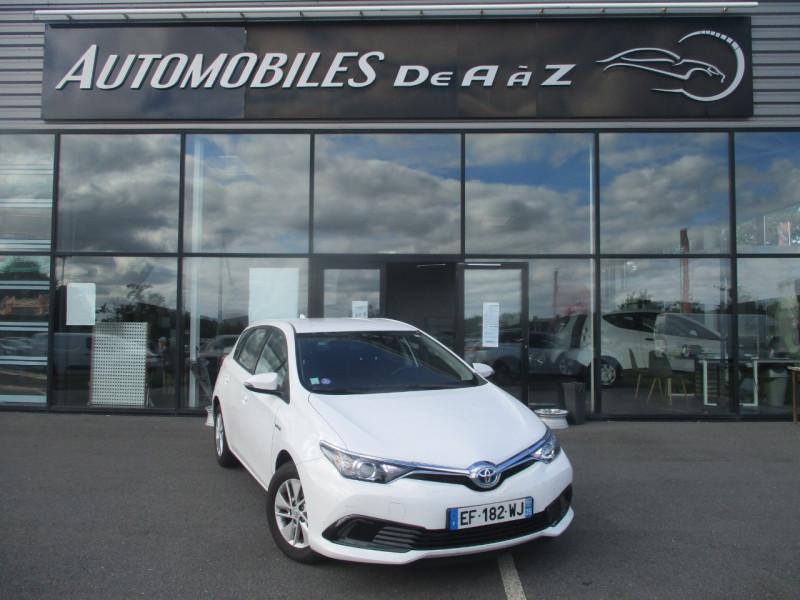 Toyota AURIS HSD 136H TENDANCE BUSINESS Hybride BLANC Occasion à vendre