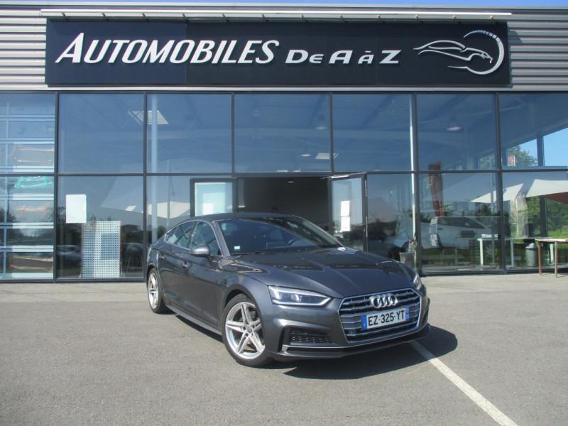 Audi A5 SPORTBACK 2.0 TDI 150CH S LINE S TRONIC 7 Diesel GRIS F Occasion à vendre