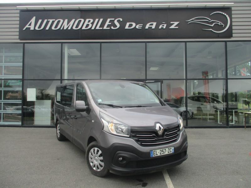 Renault TRAFIC III COMBI L2 1.6 DCI 125CH ENERGY LIFE 9 PLACES Diesel GRIS F Occasion à vendre