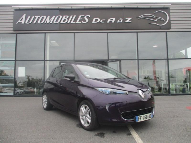 Renault ZOE ZEN CHARGE NORMALE R90 Electrique BLEU F Occasion à vendre