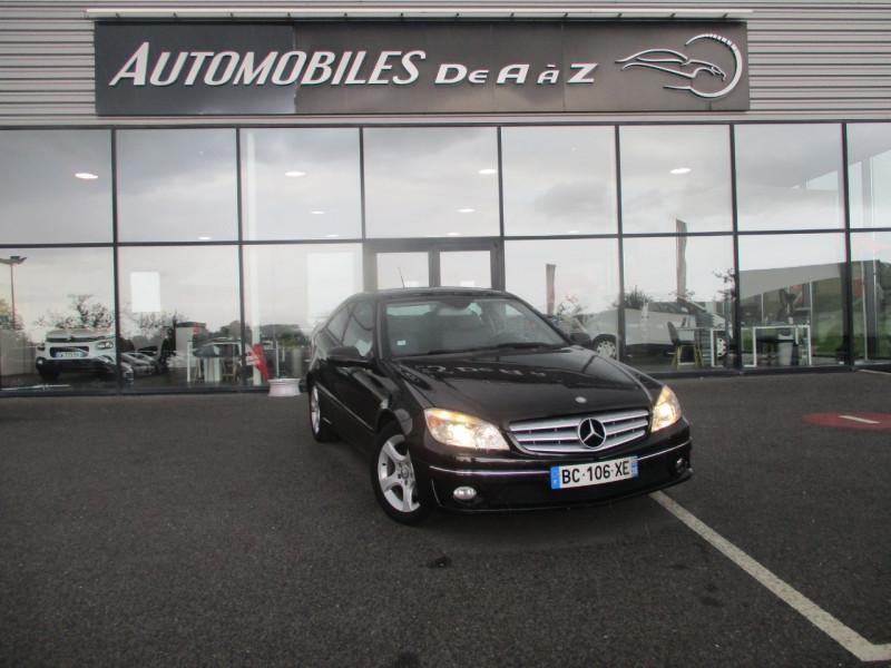 Mercedes-Benz CLASSE CLC (CL203) 200 CDI Diesel NOIR Occasion à vendre