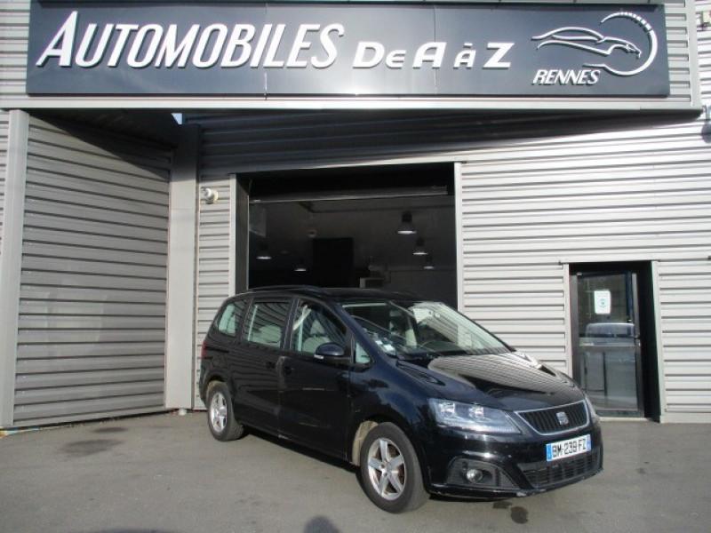 Seat ALHAMBRA 2.0 TDI 140CH FAP ECOMOTIVE STYLE Diesel NOIR Occasion à vendre
