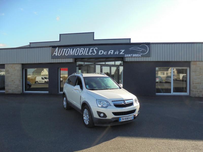 Opel ANTARA 2.2 CDTI 163 COSMO PACK STOP/START 4X4 Diesel BLANC Occasion à vendre