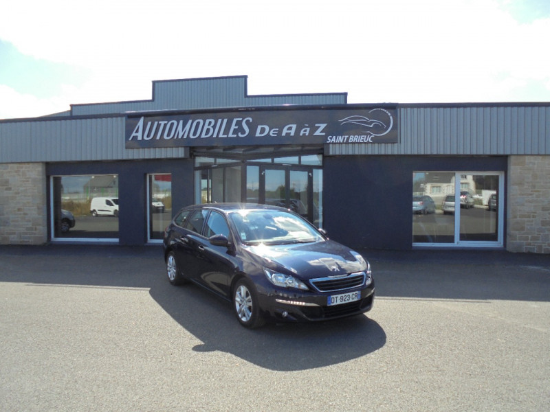 Peugeot 308 SW 1.2 PURETECH 110CH ACCESS BUSINESS S&S Essence BLEU F Occasion à vendre