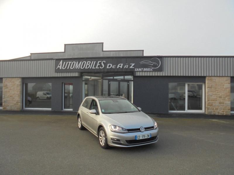 Volkswagen GOLF VII 1.4 TSI 140CH ACT BLUEMOTION TECHNOLOGY CONFORTLINE DSG7 5P Essence GRIS Occasion à vendre