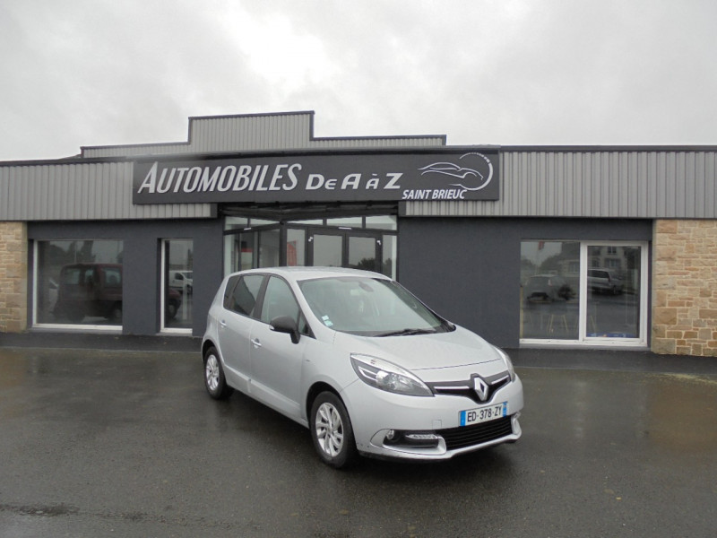 Renault SCENIC III 1.5 DCI 110CH ENERGY LIMITED EURO6 2015 Diesel GRIS C Occasion à vendre