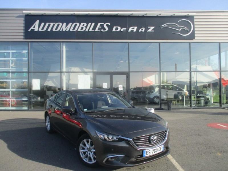 Mazda MAZDA 6 2.2 SKYACTIV-D 150 DYNAMIQUE Diesel GRIS F Occasion à vendre