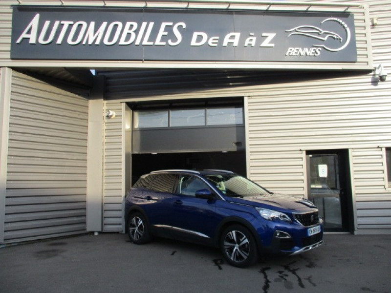 Peugeot 3008 1.6 BLUEHDI 120CH ALLURE S&S Diesel BLEU  Occasion à vendre