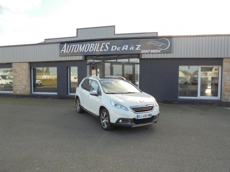 Peugeot 2008 1.6 E-HDI115 FAP ALLURE Diesel BLANC Occasion à vendre