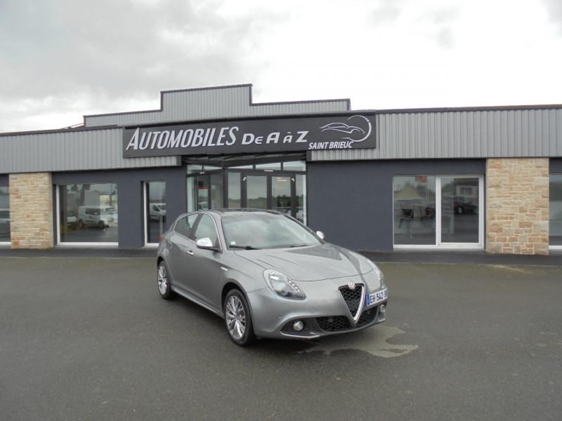 Alfa Romeo GIULIETTA 1.4 TB MULTIAIR 170CH EXCLUSIVE STOP&START TCT Essence GRIS C Occasion à vendre