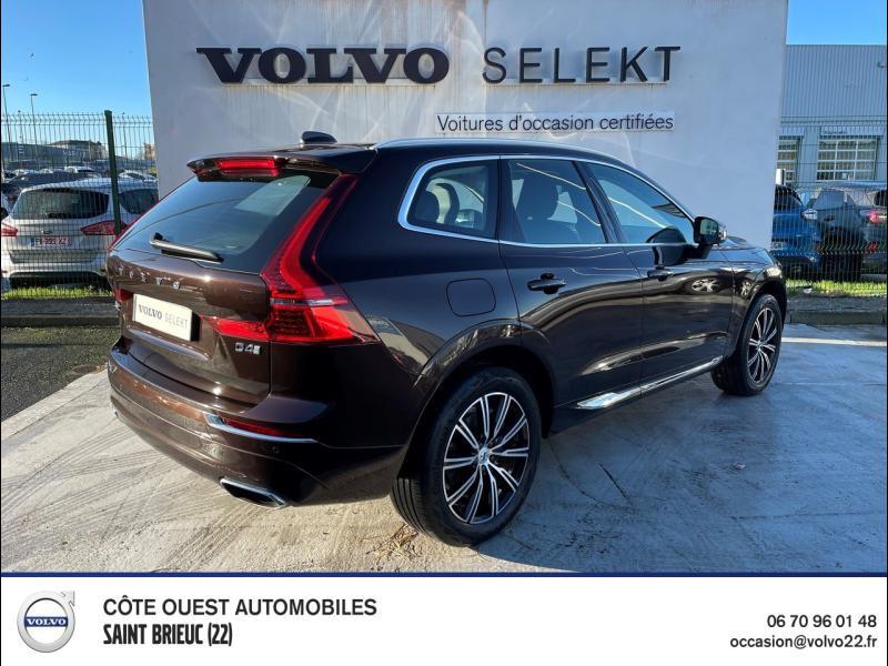 Photo 2 de l'offre de VOLVO XC60 D4 AdBlue 190ch Inscription Geartronic à 40990€ chez Côte Ouest Automobiles