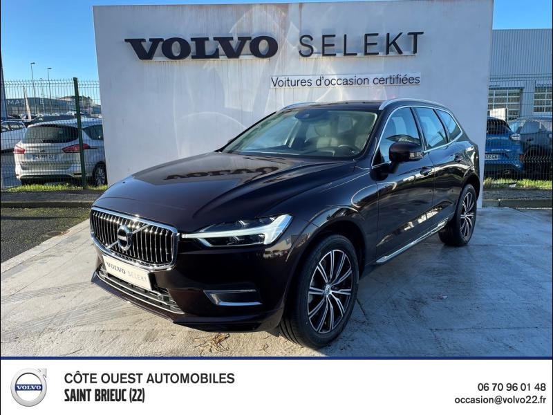 Volvo XC60 D4 AdBlue 190ch Inscription Geartronic Diesel Brun Erable Occasion à vendre