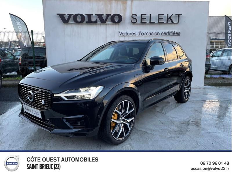 Volvo XC60 T8 AWD 318 + 87ch Polestar Engineered Geartronic Hybride rechargeable : Essence/Electrique Noir Occasion à vendre