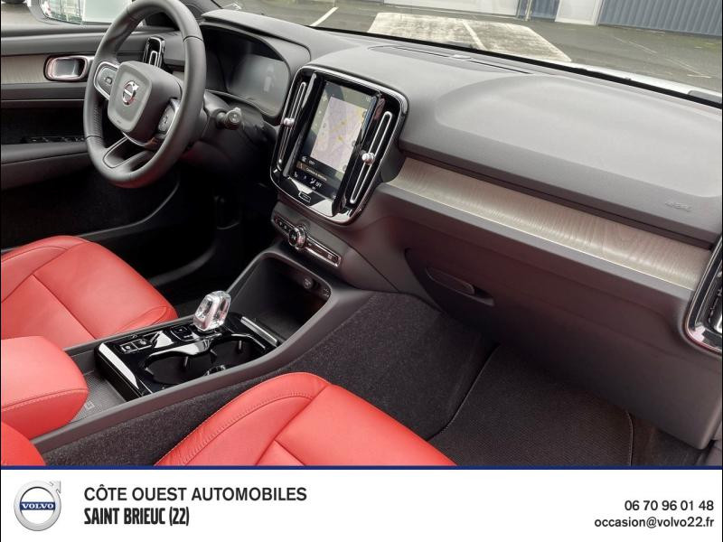 Photo 6 de l'offre de VOLVO XC40 T5 Twin Engine 180 + 82ch Inscription DCT 7 à 44990€ chez Côte Ouest Automobiles