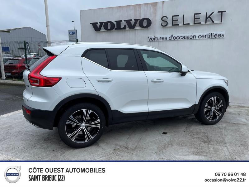 Photo 4 de l'offre de VOLVO XC40 T5 Twin Engine 180 + 82ch Inscription DCT 7 à 44990€ chez Côte Ouest Automobiles
