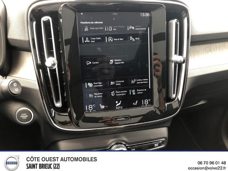 Photo 7 de l'offre de VOLVO XC40 D4 AdBlue AWD 190ch Inscription Luxe Geartronic 8 à 49990€ chez Côte Ouest Automobiles